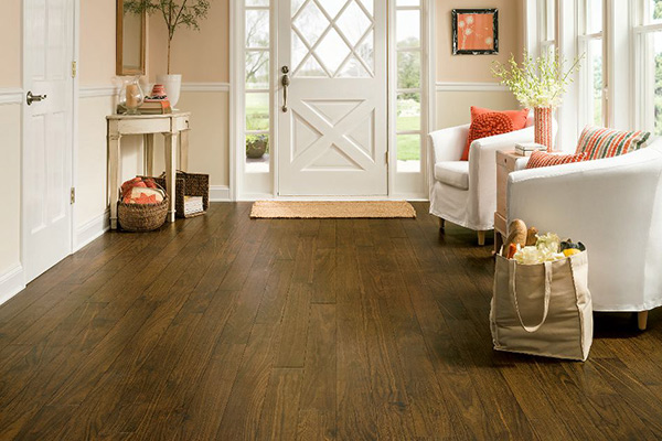 Luxury Vinyl Plank, Vivero Better, Walnut Cove, Antique Brown